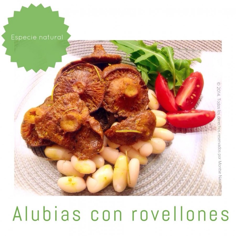 Alubias con rovellones