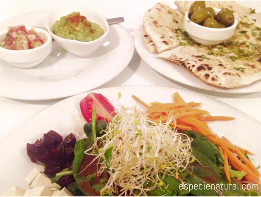Restaurante vegetariano en l'Eixample