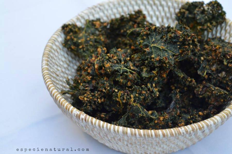Spicy Mediterranean Kale